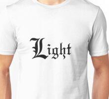 Death Note Light Unisex T-Shirt