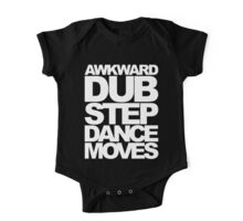 Awkward Dubstep Dance Moves (white) One Piece - Short Sleeve