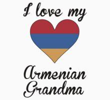 I Love My Armenian Grandma One Piece - Short Sleeve