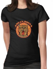 MEAN DOGS Womens Fitted T-Shirt