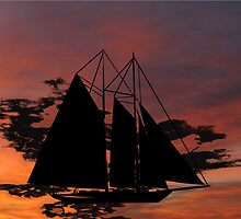 The Dawn of Sails by Dennis Melling