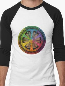 Mandala 43 T-Shirts & Hoodies Men's Baseball ¾ T-Shirt