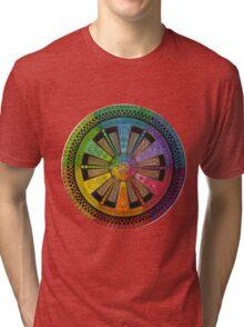 Mandala 43 T-Shirts & Hoodies Tri-blend T-Shirt