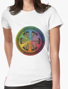 Mandala 43 T-Shirts & Hoodies Womens Fitted T-Shirt