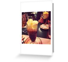 Root Beer Floats! Greeting Card
