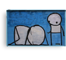 Sleep Stick Canvas Print