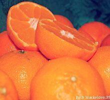 Oranges. by Beth Mackelden