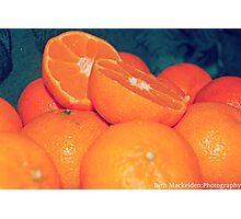 Oranges. Photographic Print
