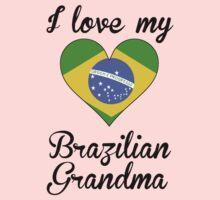 I Love My Brazilian Grandma One Piece - Long Sleeve