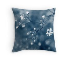 Baby's breath_01 Throw Pillow
