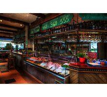 Seafood Bar Photographic Print