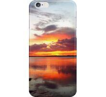 Explosive Sunset, Wellington Point, QLD iPhone Case/Skin
