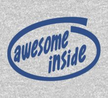Awesome inside Kids Tee