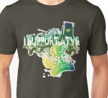 Support - SquiggleSketch Unisex T-Shirt