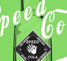 Speed Cola - Poster Sticker