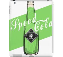 Speed Cola - Poster iPad Case/Skin