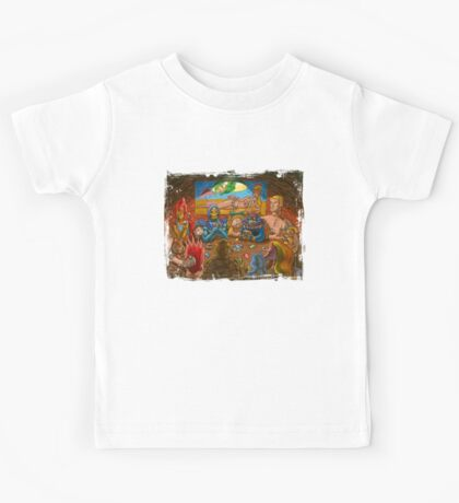 Toys Playing Uno Kids Tee