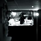 kitchen of a restaurant by busteradams