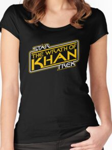 Khan Strikes Back Women's Fitted Scoop T-Shirt