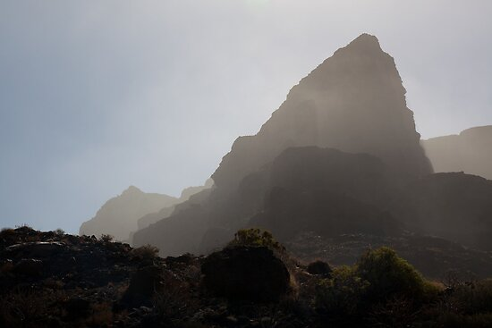 Hazy light in La Gomera by Tony Roddam