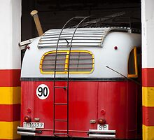Back end of a bus by Tony Roddam