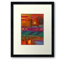 Being in LOVE Framed Print