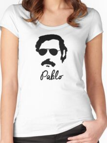 Pablo Escobar Sunglasses Women's Fitted Scoop T-Shirt