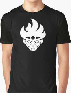 Jojo - Star Platinum Icon (Variant 2, White) Graphic T-Shirt