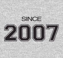 Since 2007 Kids Tee