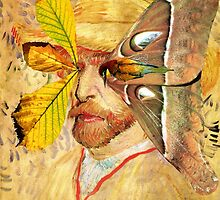 Portrait of Van Gogh 4. by - nawroski -