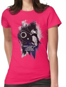 Spike - Don't push me... Womens Fitted T-Shirt