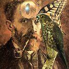Portrait of Van Gogh 5. by nawroski .