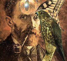 Portrait of Van Gogh 5. by - nawroski -
