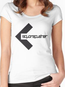sp light Women's Fitted Scoop T-Shirt