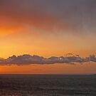 Sunrise over the Isle of May by David Alexander Elder