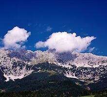 Fluffy Mountain Clouds - Wilder Kaiser by Bill74Ryker