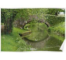 Bridge at Rheola Poster