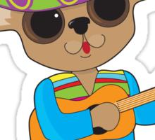 Chihuahua Guitar Sticker