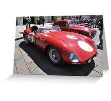 Ferrari 500 Mondial (1953-1955) Greeting Card