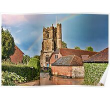 After The Storm Bearsted Church Poster