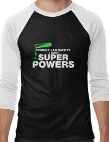 Funny Lab Safety T-shirt Men's Baseball ¾ T-Shirt