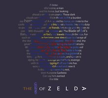 The Legend of Zelda Shield Poem Unisex T-Shirt