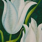 Tulips by Gillian Toft by gilliantoft