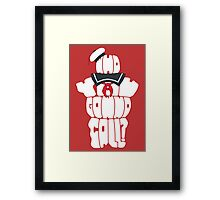 Who You Gonna Call? Framed Print