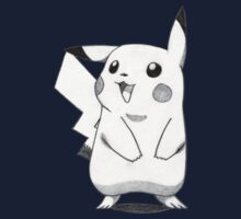 pikachu looking away drawing Kids Clothes