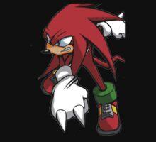 Knuckles (Sonic Character) Tee Design by Oscar Gonzalez
