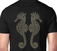 Vintage Tribal Sea Horses Unisex T-Shirt