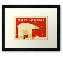 Polar bear 1 Framed Print