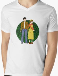 Ryo and Shenhua - Shenmue Mens V-Neck T-Shirt
