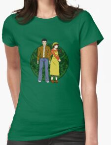 Ryo and Shenhua - Shenmue Womens Fitted T-Shirt